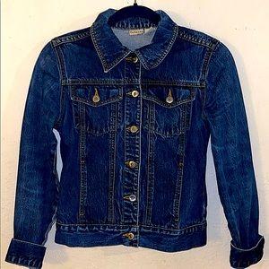 Rubbish distressed jean jacket